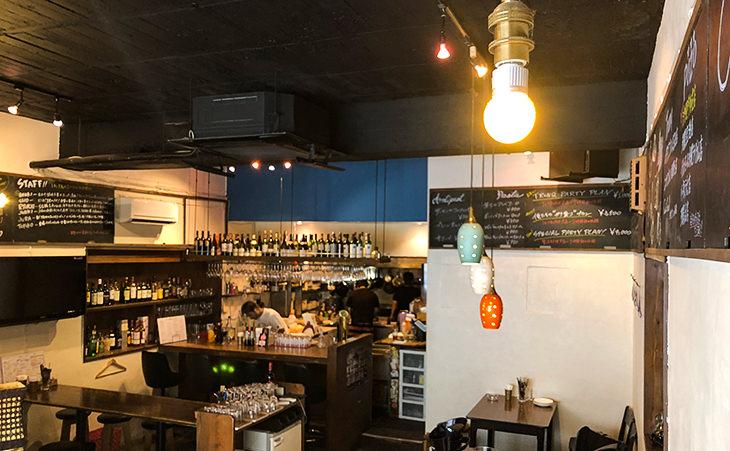 ワイン食堂トランクイタリアゴハン久茂地店